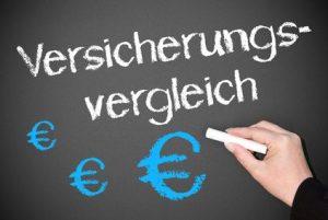 Versicherungsvergleich und Euros