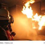 Hilfe, die Sauna brennt