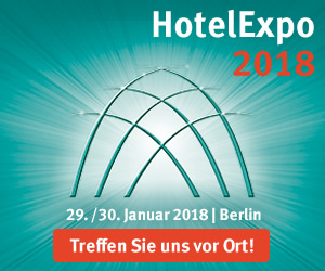 Logo Hotel Expo 2018 in Berlin